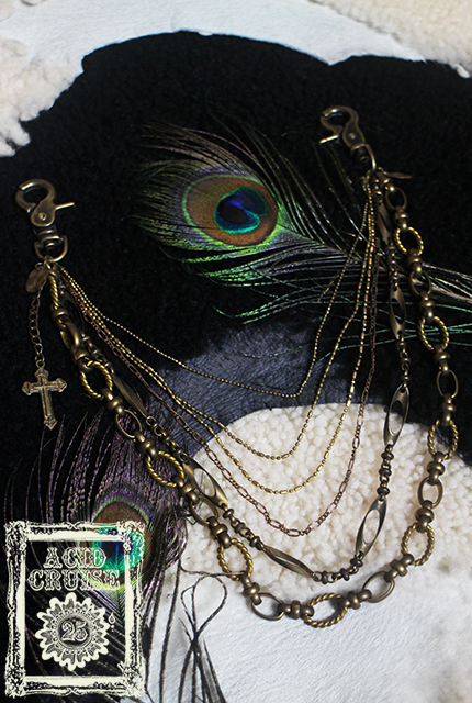 【Acid Cruise】Free will chain accessory【カラー*真鍮】