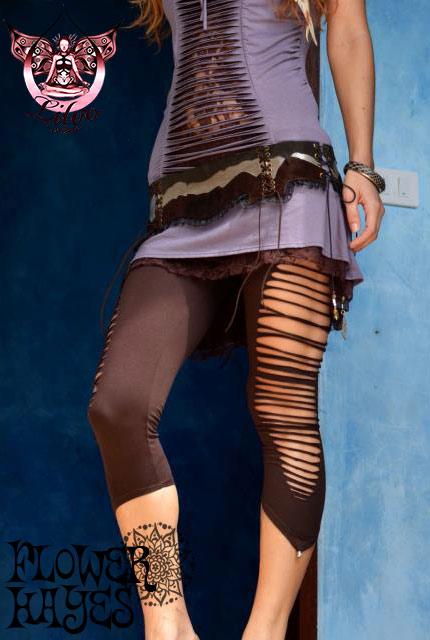 Liloo wear【YAQUI LEGGINGS/レギンス】 4color*BLACK/BROWN/DEEP RED/WHITE*XS/Mサイズ