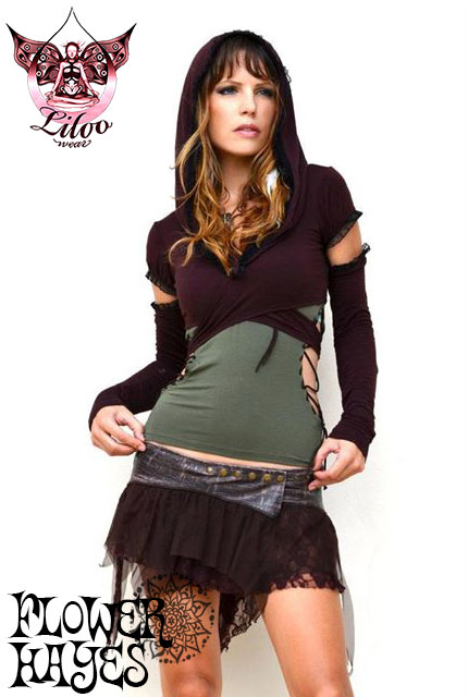 Liloo wear【0TTAWA TOP/トップス】5color*BLACK/BROWN/KHAKI/WHITE/CICILIA GRAPE*XS/M/Lサイズ