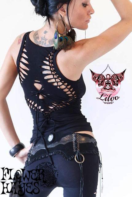 Liloo wear【NAOKO TOP/トップス】4color*BLACK/ROYAL BLUE/WHITE/CICILIA GRAPE*XS/Mサイズ