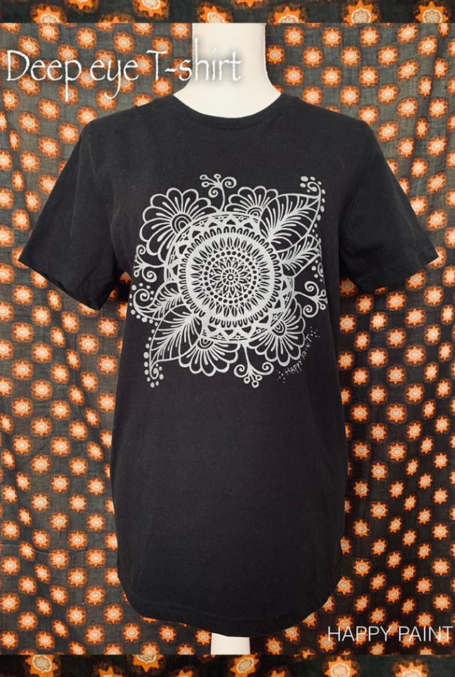 【HAPPY PAINT】Deep Eye T-shirt  ※割引クーポン、セール対象外商品