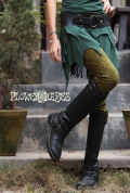 シピポ族  シャーマン アヤワスカ クヌー柄♪レギンス/レギパン【2カラー*オリーブ/アッシュパープル】S M Lサイズ