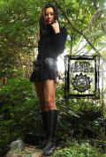 【Acid Cruise】Pleats micro mini skirt【カラー*ブラック】M-Lサイズ