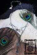 【Acid Cruise】Problem child 25 silver necklace【Drink me】