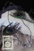 【Acid Cruise】Problem child 25 silver necklace【Dorp】