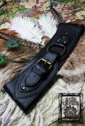 【Acid Cruise】Nocturnality leather belt/Ring belt【カラー*ブラック】S Mサイズ