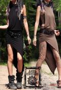 【Acid Cruise】Journey asymmetry dress【2カラー*ブラック/ブラウン】フリーサイズ