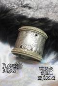 Kuchi tribal/民族*ジプシー 真鍮ヴィンテージ ブレスレット/中【トライバル ジプシー ボヘミアン ボホスタイルに♪】
