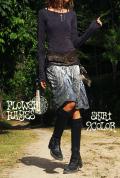 Forest 森*切り替えデザイン♪ナチュラルミディアムスカート【2カラー*A/B】Mサイズ