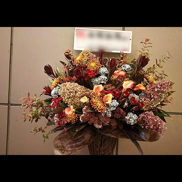 アンティーク風スタンド花