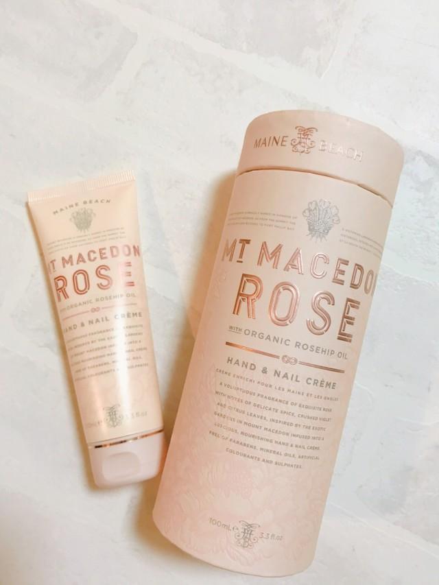 RSハンド&ネイルクリーム 美しいローズガーデンの香り オーガニック認定成分を使用