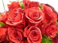 レア!!ラメ付き赤バラの花束【5H-1101】