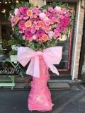 大人気!かわいいハート形のスタンド花【3S-HEART】