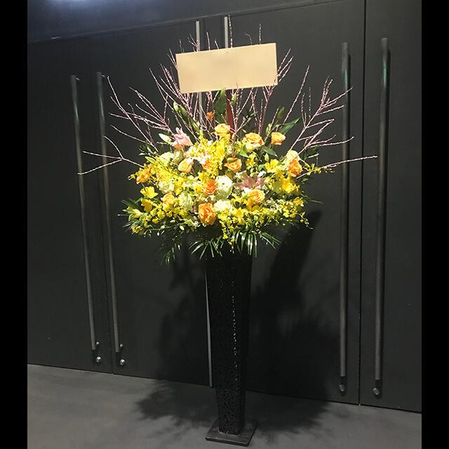 ビタミンカラースタンド花