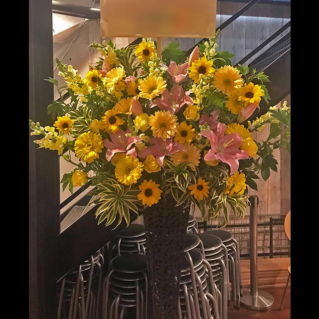 Yellow系メタルスタンド花