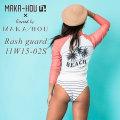 MAKA-HOU マカホー ラッシュガード Rash Guard ラッシュガード [11W15-02S] 水着 サーフィン