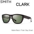 SMITH スミス サングラス CLARK クラーク 偏光レンズ Matte Black Polarized [正規品]