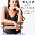 [4月中旬以降入荷予定] MAKA-HOU マカホー Camisole with Pad [16W01-02S] キャミソール ウィズ パッド 水着 キャミソール型水着