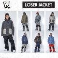 [現品限り特別価格]  AA HARDWEAR LOSER JACKET メンズ スノーボードウェア wear スノーウェア