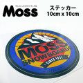 MOSS SNOWBOARDS モス スノーボード Mt. ステッカー [8] STICKER ステッカー [10cm x 10cm]