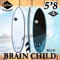 [即出荷可能] 2017 SOFTECH ソフテック サーフボード BRAIN CHILD 5'8 ブレインチャイルド ショートボード ソフトボード