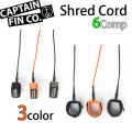 サーフィン リーシュコード ショートボード コンプ 6フィート CAPTAIN FIN キャプテンフィン Shred Cord 6ft Comp リーシュコード サーフィン 流れ防止 [送料無料]