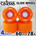 CAKRA WHEEL チャクラ スライド ドリフト ウィール スケトボード ソフト 60mm 78A [AMRTA ORANGE] ダウンヒル ロンスケ クルージング スケボー