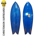 Christenson Surfboards クリステンソン サーフボード FISH 5′8″ [Deep Blue Tint] ツイン フィッシュ ON FIN [条件付き送料無料]