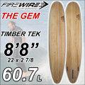 [ラスト1本限り] FIREWIRE SURFBOARDS ファイヤーワイヤー サーフボード THE GEM [8'8] ザ ジェム Taylar Jenson x Dan Mann コラボ ロングボード [条件付き送料無料]
