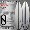 FIREWIRE SURFBOARDS ファイヤーワイヤー サーフボード SCI-FI サイ・ファイ TOMO [LFT] ショートボード ケリースレーター デザイン [条件付き送料無料]