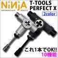 NINJA [ニンジャ] スケートボード 工具 T TOOLS PERFECT X [ツール パーフェクト テン] 10機能付き 2カラー
