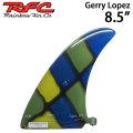 ロングボード センターフィン Rainbow Fin レインボーフィン Gerry Lopez 8.5 [252] ステンドグラス サーフィン シングル フィン