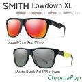 2018 SMITH スミス サングラス LOWDOWN XL ローダウン エックスエル ChromaPop 正規品