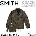 2018 SMITH スミス ユニセックス ジャケット COACHS JACKET カモ柄 アパレル