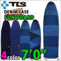サーフボード ファンボード デニムケース TOOLS ツールス ボードケース DENIM CASE [7.0] ソフトケース ストレッチデニム ミッドレングス