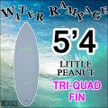 [送料無料] WATER RAMPAGE  ウォーターランページ サーフボード LITTLE PEANUT 5'4 ショートボード ソフトボード スポンジボード