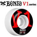 BONES WHEEL STF V1 SERIES ボーンズ ウィール スケボー [BLK/RED] [8] [9] [10] [11] 51mm 52mm 53mm 54mm スケートボード ウィール ストリート系