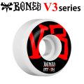 BONES WHEEL STF V3 SERIES ボーンズ ウィール [BLK/RED] スケボー [26] 54mm スケートボード ストリート系