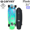carver × LOST カーバー ロスト コラボ サーフスケート 31 Plank プランク [CX4トラック] コンプリートスケートボード SURF SKATE [27]