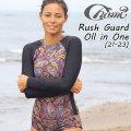 2019 Chami 21-23 チャミー Rach Guard Oll in One ラッシュ パンツ 一体型 水着  ビキニ レディース