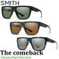 2019 NEWモデル SMITH スミス サングラス The Comeback ザカムバック ChromaPop Polarized クロマポップ 偏光レンズ 正規品