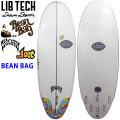 【限定モデル】 Lib Tech リブテック BEAN BAG ビーンバッグ LOST ロスト サーフボード ショートボード MATHEM メイヘム Mat Biolos [条件付き送料無料