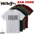 [5月28日まで予約受付中] 2019 Mountain Rock Star マウンテンロックスター BAR CODE Tee [STANDARD FIT] 半袖 Tシャツ T-SHIRTS