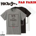 2019 Mountain Rock Star マウンテンロックスター PAS PAIRS Tee [SLIM FIT] 半袖 Tシャツ T-SHIRTS
