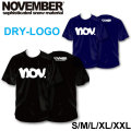 2019 NOVEMBER ノベンバー スノーボード DRY-LOGO [19] [20] ドライTシャツ 半袖 Tシャツ ユニセックス
