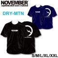 2019 NOVEMBER ノベンバー スノーボード DRY-MTN [21] [22] ドライTシャツ 半袖 Tシャツ ユニセックス