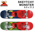TOY MACHINE トイマシーン スケートボード コンプリート SKEYTCHY MONSTER (8.0 x 31.5) [13] 完成品スケボー SKATE