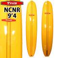[follows40周年記念特別価格] TYLER SURFBOARDS タイラー サーフボード NCNR 9'4 Yellow SINGLE FIN シングルフィン ロングボード [条件付き送料無料]