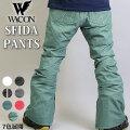 20-21 WACON スノーボードウェア メンズ パンツ SFIDA スフィーダ ワコン スノボパンツ