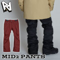 [現品限り特別価格] 20-21 AA hardwear ダブルエー ウエア 【MID2 PANTS】ミッド2パンツ レディース ジャケット スノーボード SNOW WEAR ウェアー